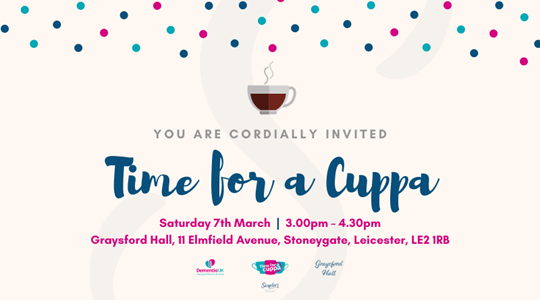 You are cordially invited to Time for a Cuppa