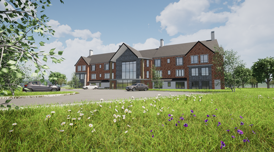 Plans approved for new care home in Worcester, The Belmont